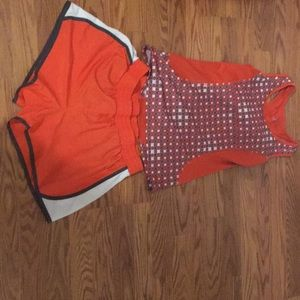 Running outfit, barely worn